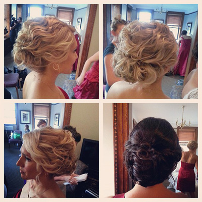 Special Occasion Hair Styles Wedding Bridal Shower