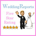 wedding reports 5 star rating