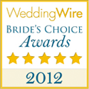 wedding wire bride's choice award 2012